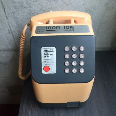 Vintage Japanese Public Payphone Pin 10Yen And 100Yen Push Dial Phone Used