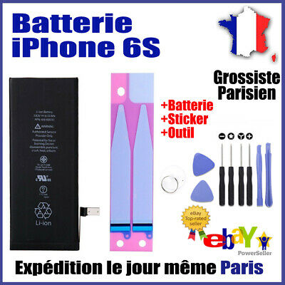 Batterie iPhone 6S Interne Neuve 0 cycle Grade AAA Prix grossiste +Sticker+Outil