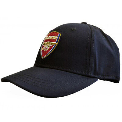 Arsenal FC Official Core Football Crest Baseball Cap Navy