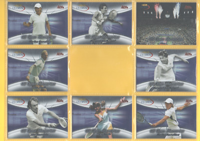 2008 Ace Authentic Grand Slam 2 - US Open Memories (USOM) Inserts - CHOOSE!