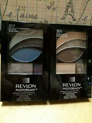 Lot 2 Revlon Photoready Primer Shadow and Sparkle - #517 and #501    NEW