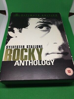 The Rocky Anthology (Ultimate Edition 6 Disc Box Set) [DVD] All 5 Movies