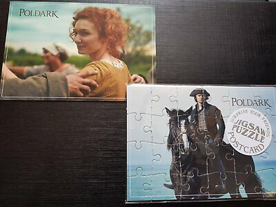 Aidan Turner, Poldark cuttings, clippings, postcard and puzzle. Cornwall Today m