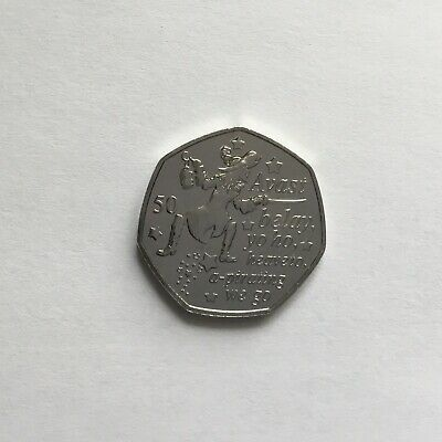 2019 Peter Pan 50p Capt Hook New Release Rare Official Isle of Man Fifty Pence