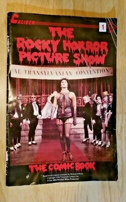 Meatloaf VF+ ROCKY HORROR PICTURE SHOW comics #2 Tim Curry 1990 RHPS