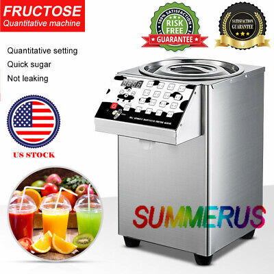 New Bubble Tea Equipment  Fructose Dispenser Fructose Quantitative Machine US