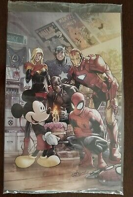 Marvel Comics #1000 Exclusive D23 Expo Variant Cover - Sealed Mint Cond.