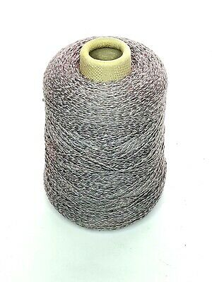 Conshohocken Cotton Gray Flannel 1lb Cone Yarn Knitting Machine Vintage