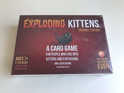 Genuine Exploding Kittens Original Edition Card Party Family Game Gift NEW
