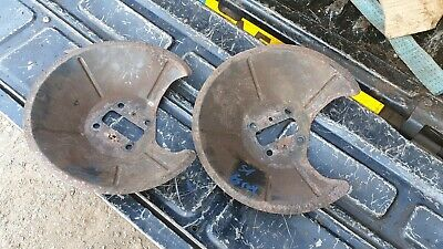 Ford Focus Mk1  St170 Rear Brake Dust Covers   Used  Ghia Zetec