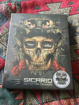 Sicario Day of the Sodado Full slip steelbook novamedia 4k