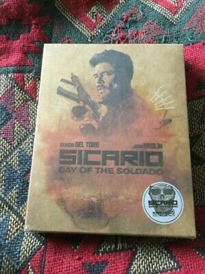 Sicario Day of the Sodado Full slip steelbook novamedia