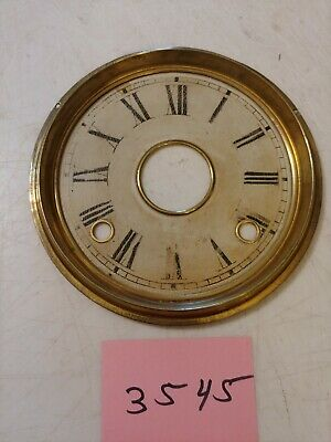 Antique Welch Gingerbread / Parlor Clock Dial