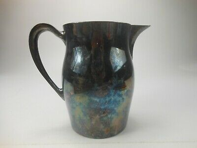 Silver Plate Water Pitcher Bristol 54 EPCA Silverplate 7 Inch