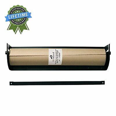 "thinkScroll 24"" Wall-Mounted Kraft or Butcher Paper Roll Holder/Dispenser"