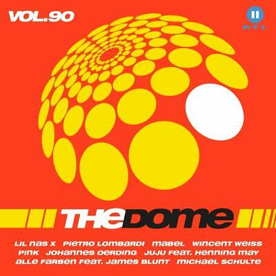 The Dome,Vol.90 -Pietro Lombardi,Wincent Weiss,James Arthur,Pink....  2 Cd New