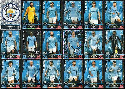 Match Attax 2018/2019 18/19 MANCHESTER CITY