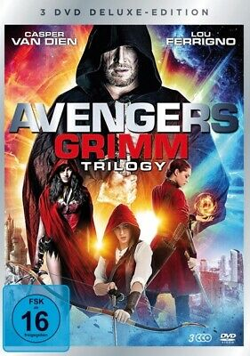 Avengers Grimm 1-3 Trilogy-Box-Edition (3 Dvds) -  Deluxe Edition 3 Dvd New