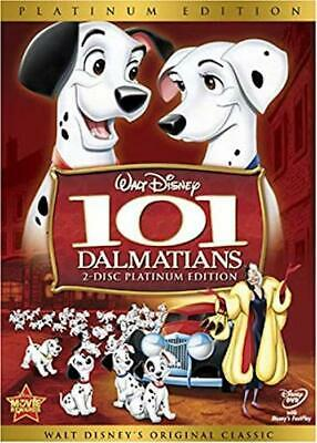 101 Dalmatians DVD 2-Disc Set, Platinum Edition New & Sealed Slipcover Included
