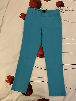 Ralph Lauren Polo Girls Light Blue Jeans Trousers Age 12 Bnwt