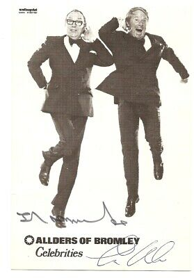 Eric Morecambe /& Ernie Wise Comedy Duo Signed Autograph PRINT 6x4/' Gift