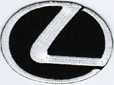 Lexus Emblem Logo Motor Company Automaker Car Racing Iron On Embroidered Patch