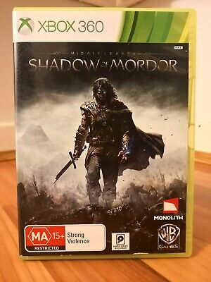 Middle-Earth Shadow Of Mordor XBOX 360 PAL 2 Discs - VGC!!!! - FREE AUS POSTAGE