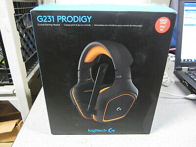 LOGITECH - G233 Prodigy Wired Gaming Headset for PC PS4 Xbox