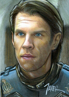 Game of Thrones HARRY STRICKLAND Golden Company SKETCH Card PRINT 1 of 10 ART