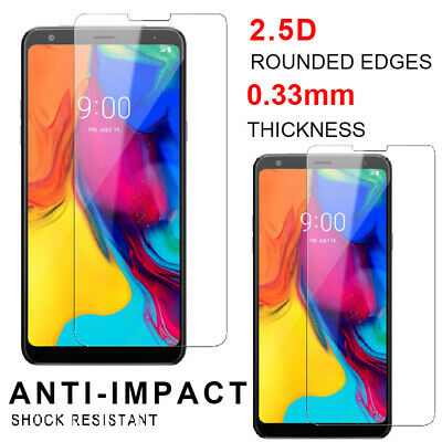 2-Pack For LG Stylo 5 / 5+ Premium Screen Protector Tempered Glass HD Clear Film