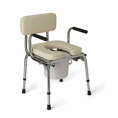 Brilliant New Guardian Padded Drop Arm Commode Seat Chair G98204 Ibusinesslaw Wood Chair Design Ideas Ibusinesslaworg