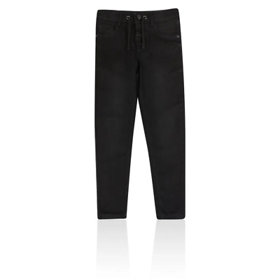 Marks and Spencer T873290U M&S Black Pull on Jeans with Stretch (3-16 years) £20