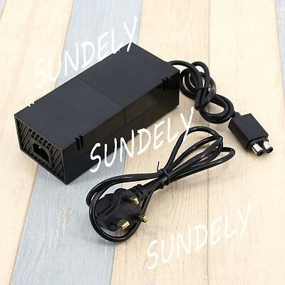 XBOX ONE Microsoft POWER SUPPLY BRICK UNIT AC Adapter Mains Charger Cable NEW
