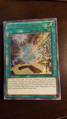 Konami Dragonic Diagram (Secret RARE) Yugioh