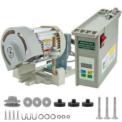 VR-600 Brushless Industrial Sewing Machine Servo Motor - 600 Watts, 110 Volts