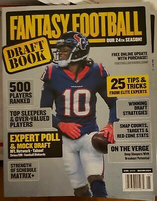 Football Diehards Draft Book Fantasy Football 2019