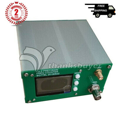 FA-2 1Hz-6GHz Frequency Counter Meter Statistical Function 11 bits/sec+Power thz