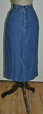 Vintage 90's CORFU Design Denim Skirt (size 12)