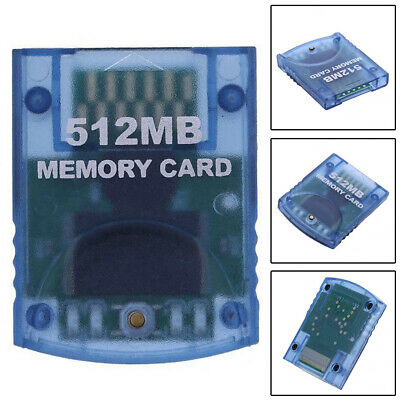 512MB Capacity Memory Card For Nintendo Gamecube Console Storage Accessories Wii