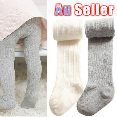 Socks Pantyhose Toddler Stockings Girls Infant Baby Cotton Tights Kids 0-8Y Warm