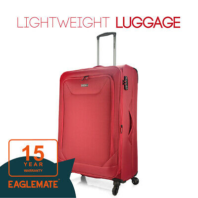 "Eaglemate 28"" Luggage Suitcase Trolley Set Travel Carry On Bag Soft Lightweight"
