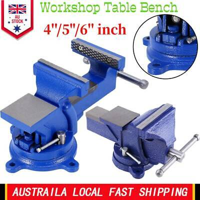 AU 4''/5''/6'' Heavy Duty Metal Mechanic Workshop Table Bench Vice Grip Clamp