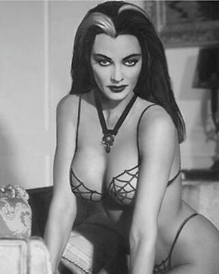 The Munsters Yvonne DeCarlo Lily Munster Sexy B/W 8x10 Glossy Photo