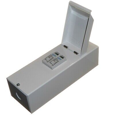 Surge Protective Device SPD in Metal Enclosure Double 2 Pole Type 2 40kA 275V