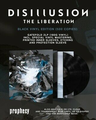Disillusion - The Liberation  2 Vinyl Lp New