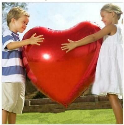 Big Size Heart Balloon 75cm Helium Wedding Birthday Party Valentine Day