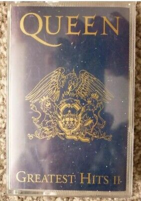 Queen - Greatest Hits II Cassette Album
