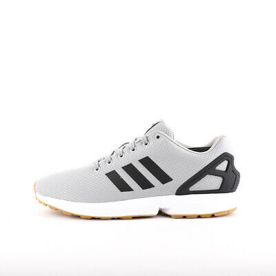 MENS ADIDAS ORIGINALS ZX Flux GreyBlackGum Trainers (CMF5) RRP £69.99