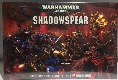 Games Workshop Warhammer 40k Shadowspear Boxed Game BNIB Sealed 40000 Set New GW