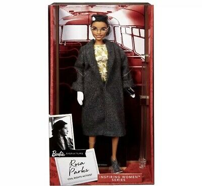 Rosa Parks Barbie Doll Inspiring Women Mattel New In Box *IN HAND SHIPS FAST*